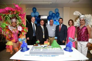 Jet Blue inaugural flight Fort Lauderdale-Aruba001