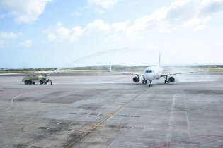 Jet Blue inaugural flight Fort Lauderdale-Aruba002